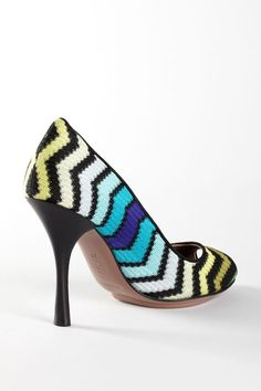 Missoni Peep Toe Pumps