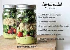 Leyered Salad: