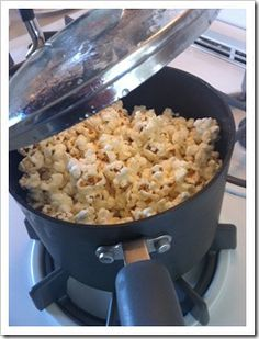 I grew up with microwave popcorn, and now and then for fun, we'd make popcorn in the fire with our special fire-popping thingy. So I never learned, until very recently, how EASY it is to make popcorn on the stove. Y'all, it's easy. Like EASY. I've been enjoying better-than-movie-theater buttery popcorn, and today I made... read the rest...