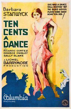 Ten Cents a Dance, Barbara Stanwyck, 1931
