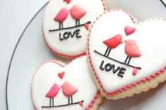 Valentines cookies - these are sweet <3