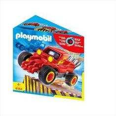 Red Racer Playmobil- New- Free Shipping     Price: $6.00