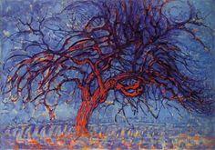 Mondiran - L'albero rosso