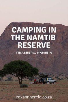 Campin in Namtib Biosphere Reserve, Tirasberg, Namibia #Namibia #Namtib #Tirasberg