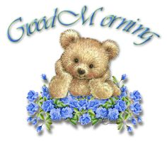 Good morning with sweet teddy