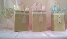 hen party/ bridesmaid/ thank you Vintage Style gift bags