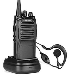 Amcrest ATR22 UHF Portable Radio Walkie Talkie Frequency Range 400470 MHz FM Transceiver 16 Programmable Channels High Power Flashlight WalkieTalkie TwoWay Radio FCC Cert -- Visit the image link more details.(This is an Amazon affiliate link and I receive a commission for the sales) #NavigationandElectronics