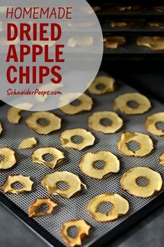 Dehydrating Apples to Make Dried Apple Rings and Apple Chips Dried Apple Rings, Dried Apple Chips, Dried Apples, Dehydrated Apples, Dehydrated Food, Apple Season, Grow Your Own Food, Healthy Foods To Eat, Step Guide
