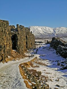 Walk in No-man's Land Þingvellir Iceland Places To Travel, Places To See, Iceland Island, Thingvellir National Park, No Mans Land, Iceland Travel, Camping And Hiking, Adventure Is Out There, Travel Photography