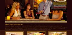 Food and Wine Free Psd Template