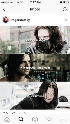 The Winter Soldier will always be a part of James Buchanan Barnes.  The past does not define him, but it did shape him.