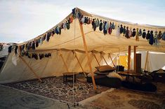 bedouin tent - retouched | Flickr - Photo Sharing! (SCA 'Estrella War' 2004 camp)