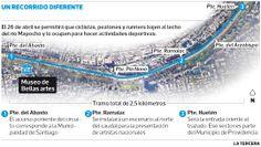 Realizarán nuevo paseo de ciclistas por el lecho del río #Mapocho en abril  El 26 de ese mes se podrá acceder al costado del caudal en un tramo de cerca de tres kilómetros. #Santiago2014