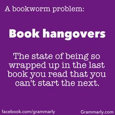 Only a truly amazing book can do this to you! My Sister's Keeper, Harry Potter, The Handmaid's Tale. Too much thinking to be done that you can't start your next book just yet!