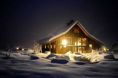 Even though I hate winter ... this does look cozy!