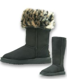 ed7eb1861 Wild Leopard - Black Pawj California #vegan boot available now just in time  for #