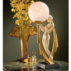 Art deco lamp - close to art nouveau