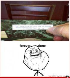 Forever Alone xD - - Rage Comics - Ragestache