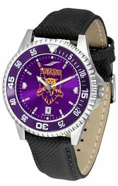 Weber State University Wildcats Competitor Anochrome- Poly/leather Band W/ Colored Bezel - Men's - Men's College Watches by Sports Memorabilia. $78.73. Makes a Great Gift!. Weber State University Wildcats Competitor Anochrome- Poly/leather Band W/ Colored Bezel - Men's