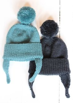 Hand knitted bobble hats   Wolves in London