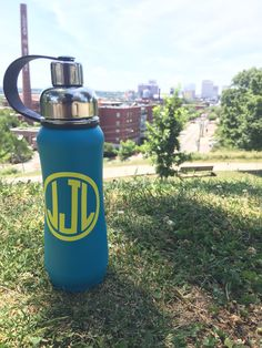 - RVA- and our awesome new @thinksport insulated water bottles. These will definitely keep your beverage cold ALL DAY. Many colors in store. Vinyl monogram included  #rva #preppy #monogram #sport #summer
