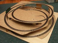 Train Table Designs | The tricky part is ensuring that trains do fit around the layout,and ...