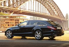 The all new CLS Shooting Brake follows the ideal line in every respect.