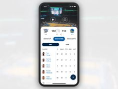 NBA App Pull to Close