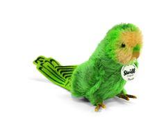 Steiff Hansi Parakeet: Mohair Stuffed Animal, $65.00