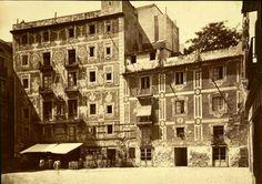 La plaça del Pi, al voltant de 1860.    5-04-2015.          Fotos obsequi de  JAUME ALMIRALL , moltes gràcies Jaume i Joana, abraçades....