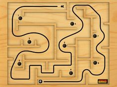 Labyrinth 2 HD is known to be one of the best Labyrinth apps for iPad iPhone and Android. The wooden Labyrinth has gained many extras, which make the life of the metal ball quite hard. Labyrinth Game, Wood Games, Iphone 4s, Brio, Wooden Toys, Projects To Try, Things To Come, Kids, Games