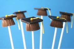 graduation chocolate covered pretzels - Google Search