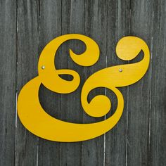 Ampersand and by spunkyfluff on Etsy, $39.00