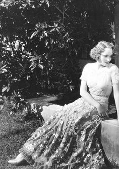 Marlene Dietrich at her Hollywood home, early 1930's