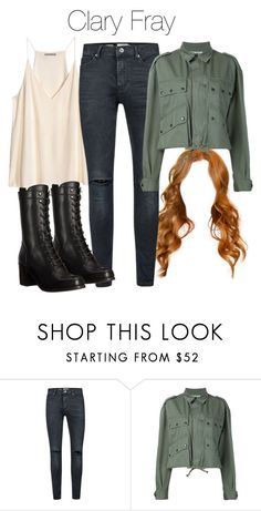 """Clary Fray - Shadowhunters"" by shadyannon ❤ liked on Polyvore featuring H&M, Topman, Faith Connexion and Frye"