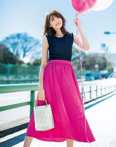Fashion Pants, Fashion Outfits, Womens Fashion, Japanese Fashion, Korean Fashion, Skirt Outfits, Dress Skirt, Moda Casual, Casual Skirts