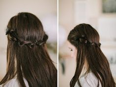 I love how simple and elegant this hair style is.
