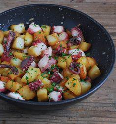 Pulpo con patatas