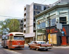 '50's Street Scene: Plymouth and Street car