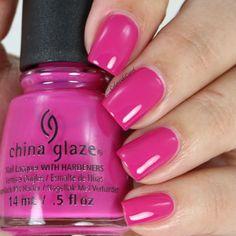 China Glaze - In the near fuchsia