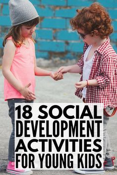 Looking for social development activities to help aid with early childhood development? With 18 fun learning activities, this collection of ideas will help improve social skills for preschool, kindergarten, and school-aged kids both at home and in the classroom. Whether you're a parent or teacher, have children with #specialneeds, or need social emotional development ideas, this is a great place to start! #parenting #parentingtips #parenting101 #autism #specialneeds #specialneedsparenting