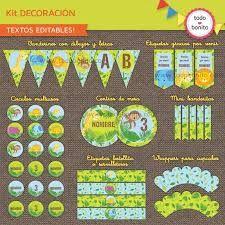 Resultado de imagen para kit imprimible gratis de animales