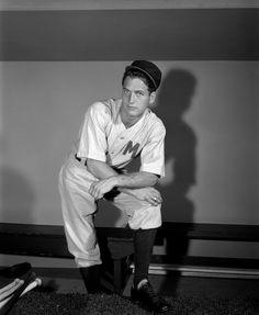 Paul Newman dans Bang The Drums Slowly, 1956.