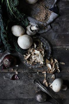 Farrotto Farro spelt risotto ingredients // Hortus cuisine