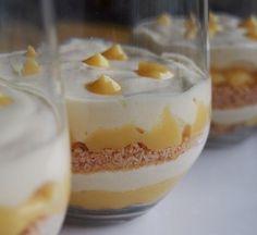 Tiramisu citron (lemon curd) Plus Cold Desserts, No Cook Desserts, Lemon Desserts, Lemon Recipes, Mini Desserts, Sweet Recipes, Dessert Recipes, Petits Desserts, Desserts Fruits
