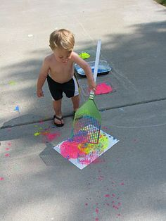 Play Create Explore: Fly Swatter Painting