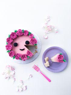 buttercream rose cake - cococakeland