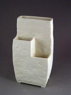 francesc burgos / terraced planter / porcelain