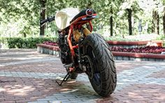 Yamaha XJR400 Cafe Racer by K.B.FreeWings #motorcycles #caferacer #motos | caferacerpasion.com