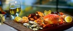 Now thats a seafood platter!! Looks delicious!